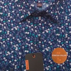 Ben Sherman Shirts - SALE! BEN SHERMAN Slim Fit Floral Stretch Shirt